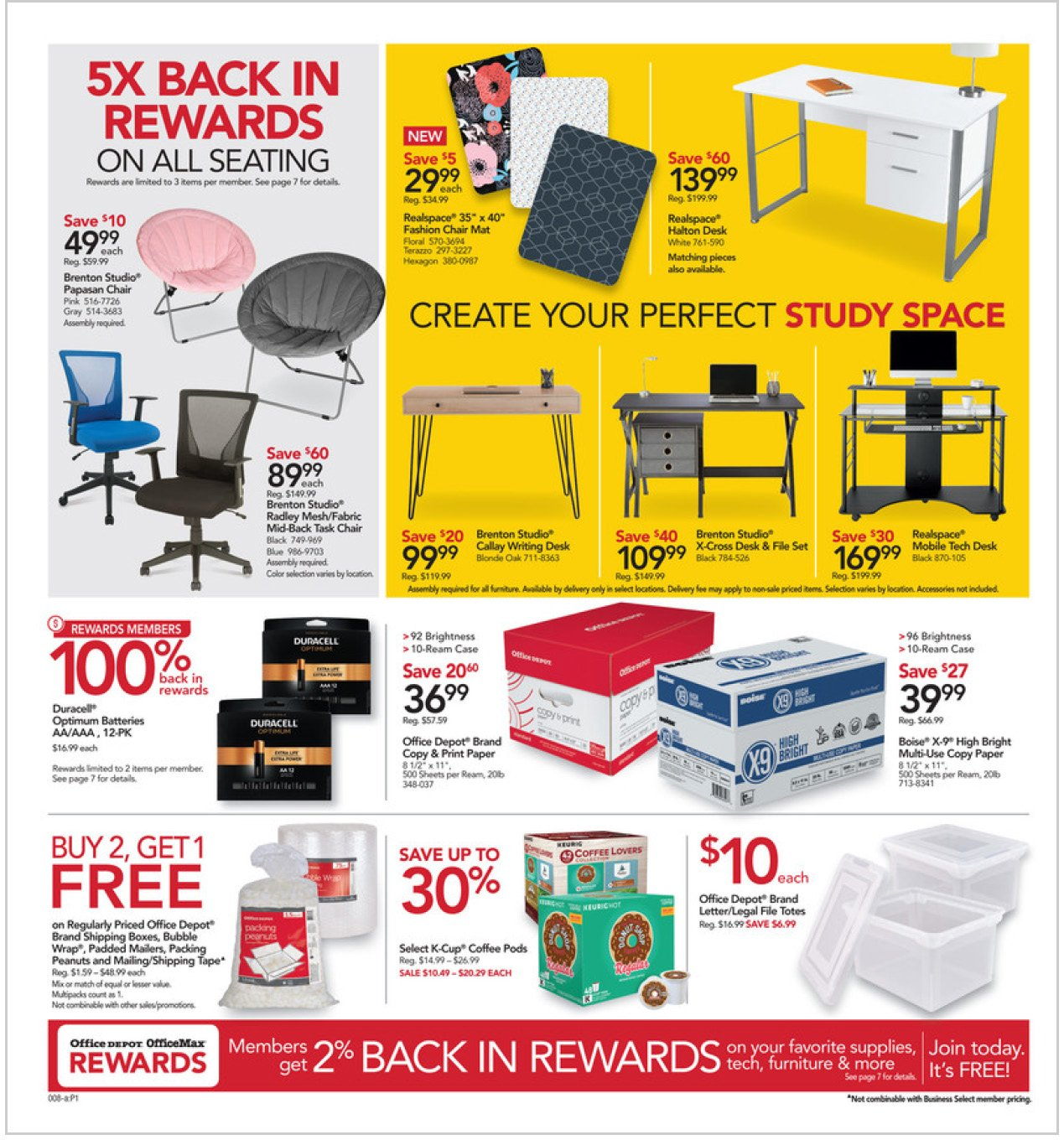 Office Depot and OfficeMax Weekly August 9 - 15, 2020 Page 8