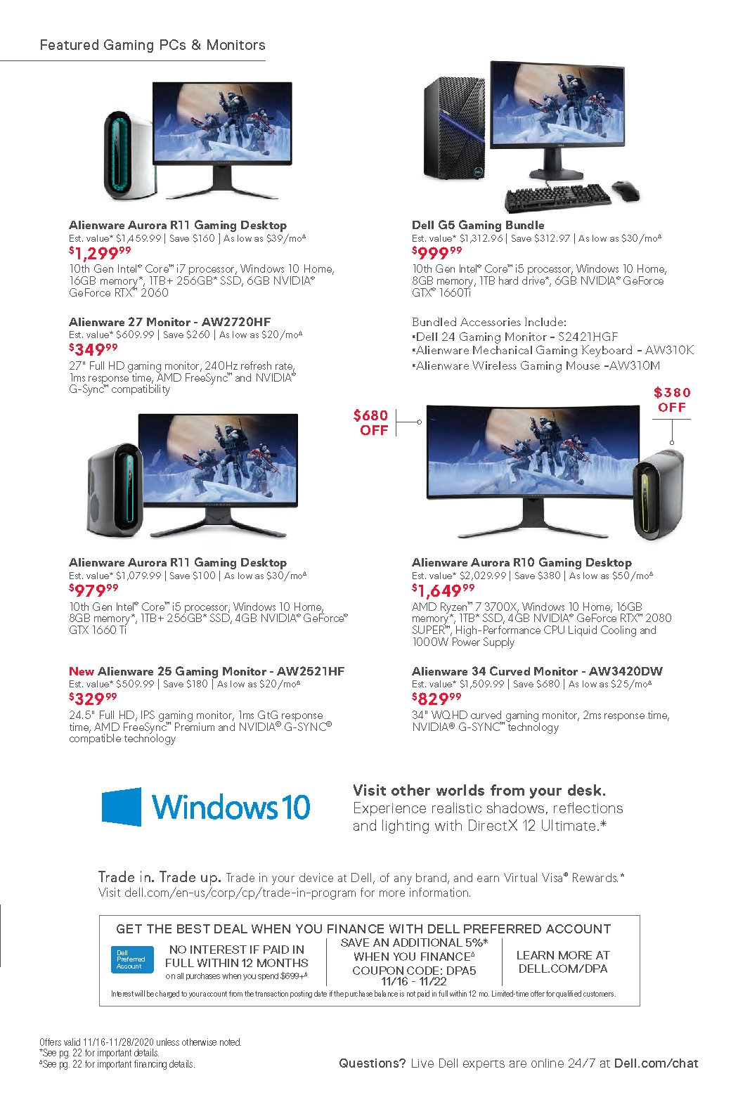 Dell Black Friday 2020 Page 21