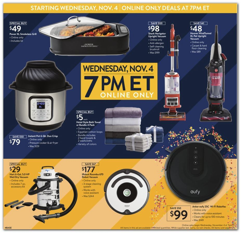 Walmart Black Friday November 4 - 8, 2020 Page 4