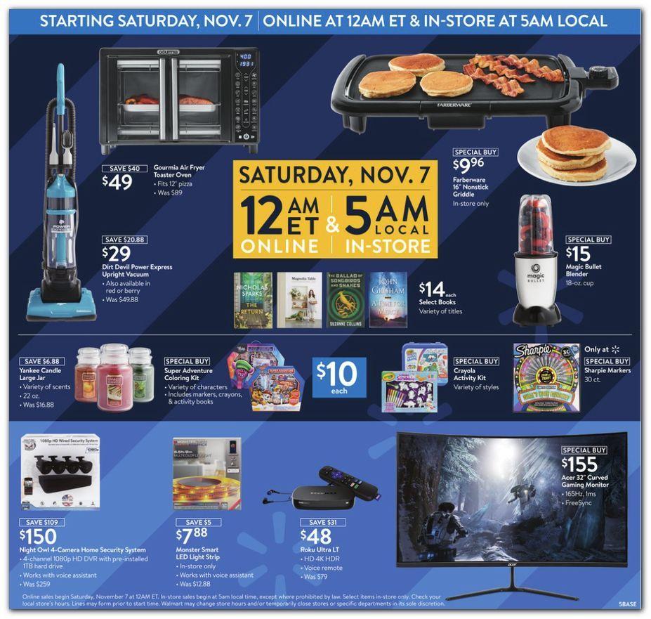 Walmart Black Friday November 4 - 8, 2020 Page 5