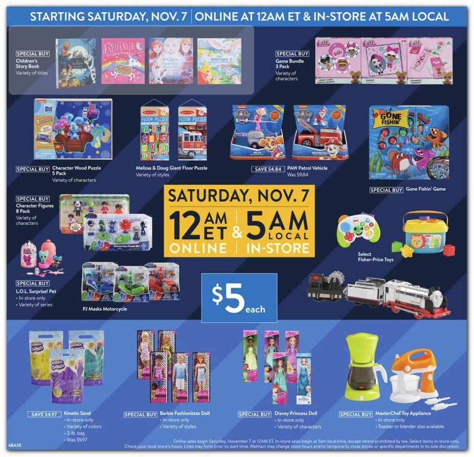 Walmart Black Friday November 4 - 8, 2020 Page 6