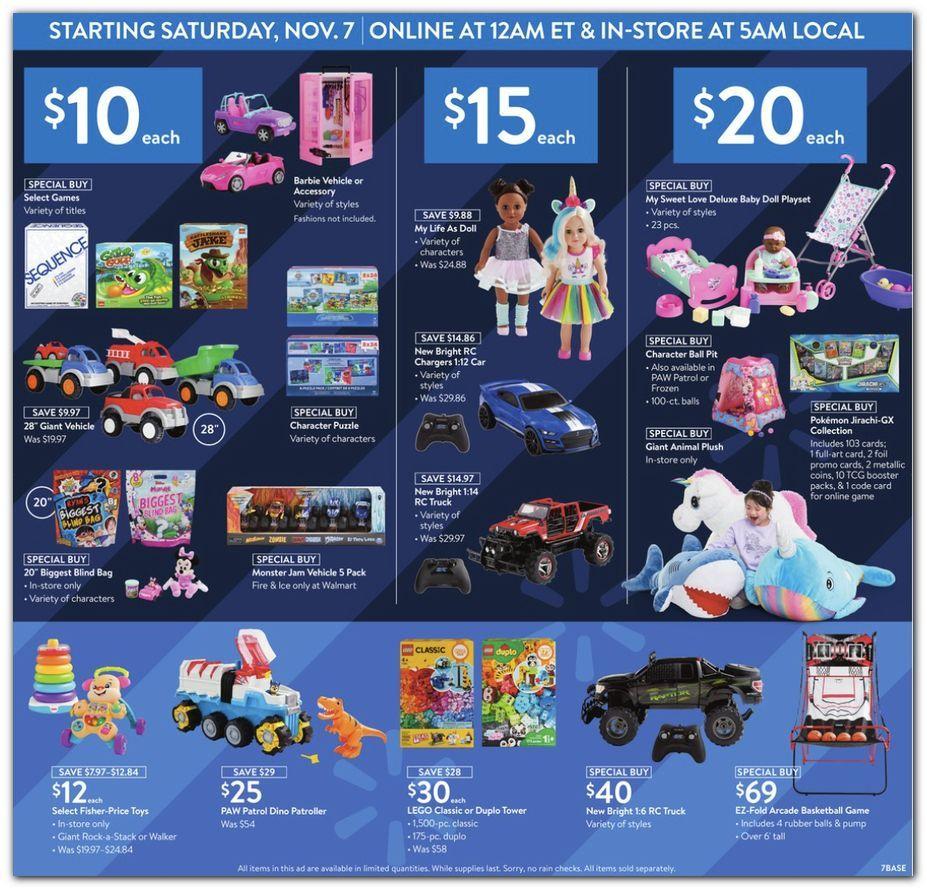 Walmart Black Friday November 4 - 8, 2020 Page 7