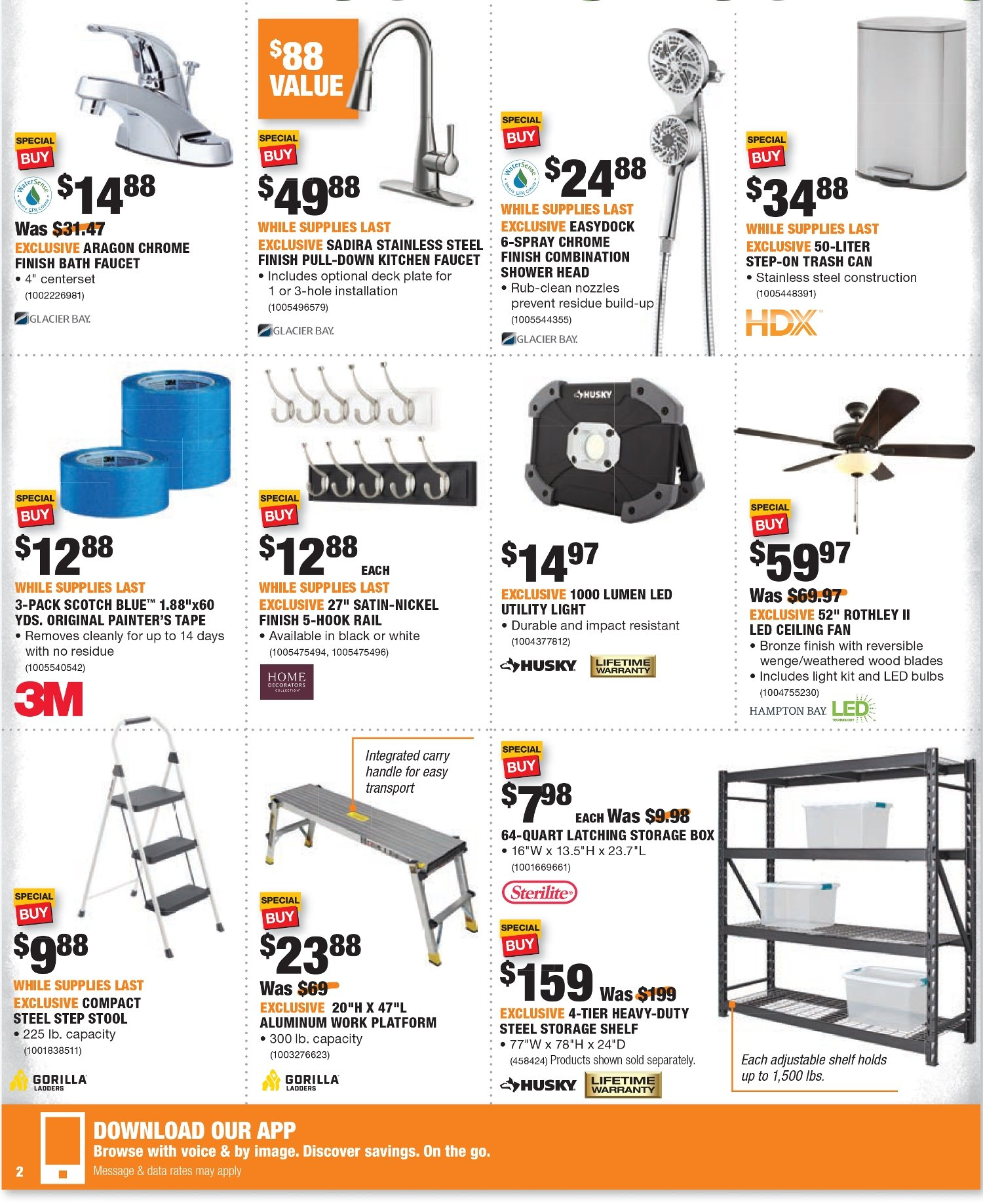 Home Depot Black Friday 2020 Page 4