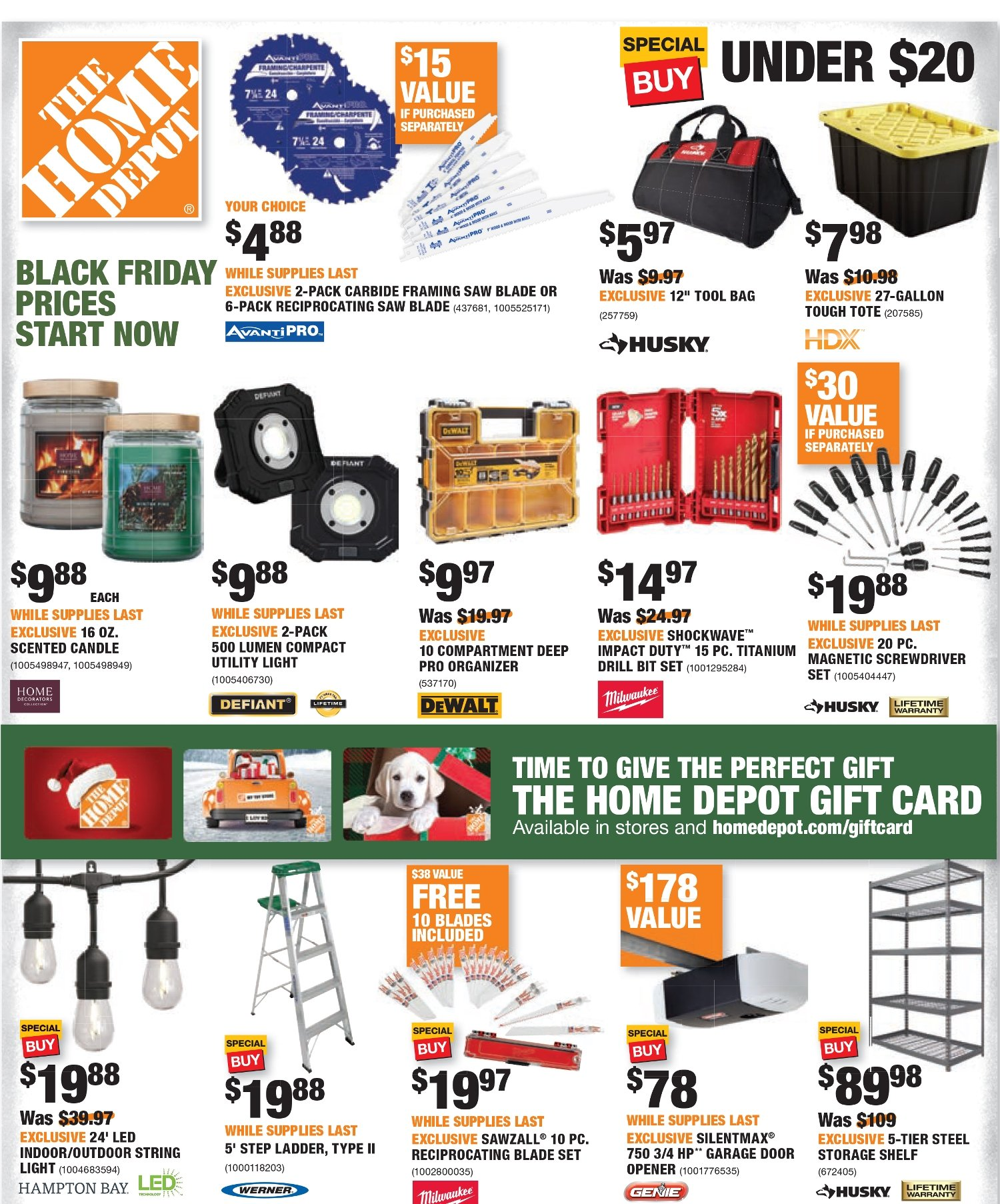 Home Depot Black Friday 2020 Page 35