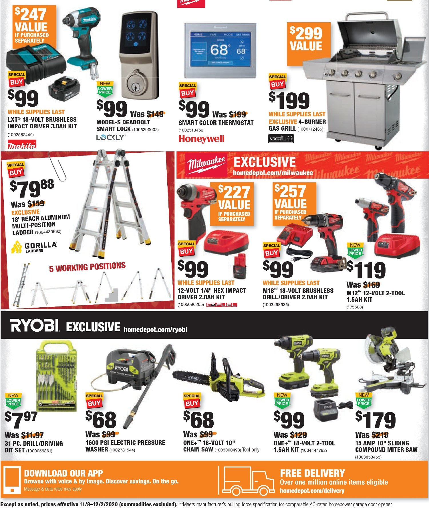 Home Depot Black Friday 2020 Page 36