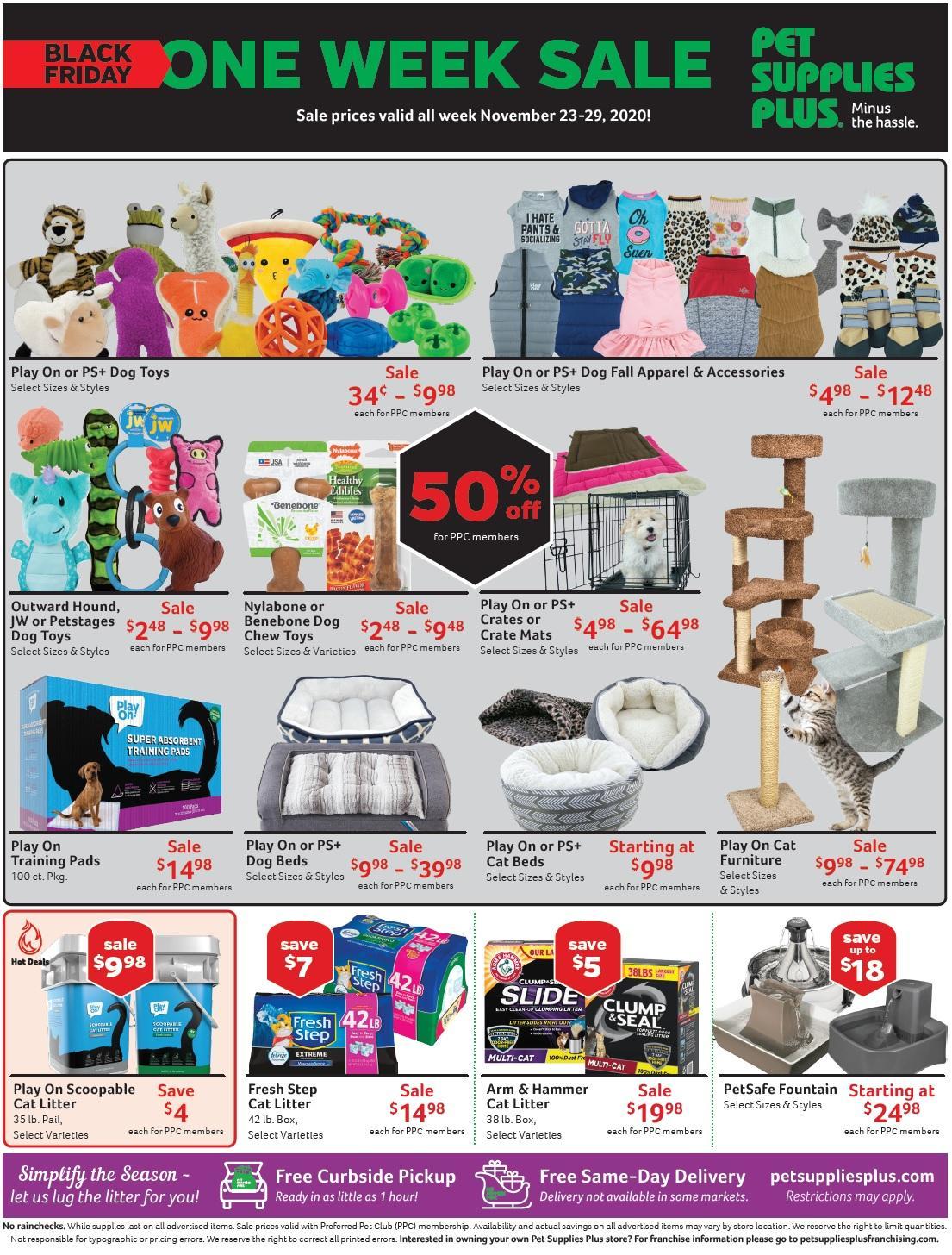 Pet Supplies Plus Black Friday 2020 Page 4