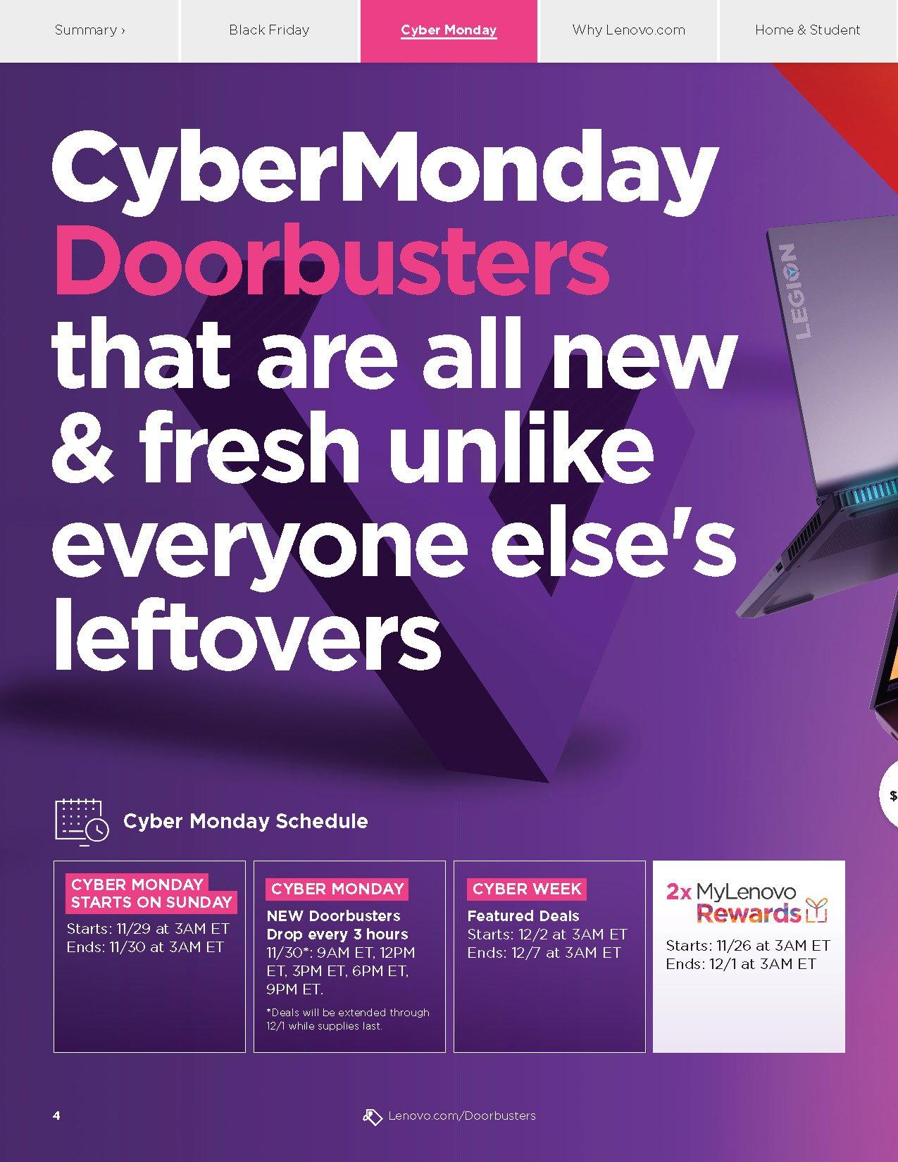 Lenovo Cyber Monday 2020 Page 4