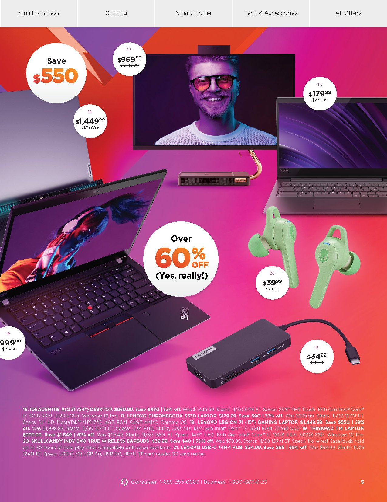Lenovo Cyber Monday 2020 Page 5