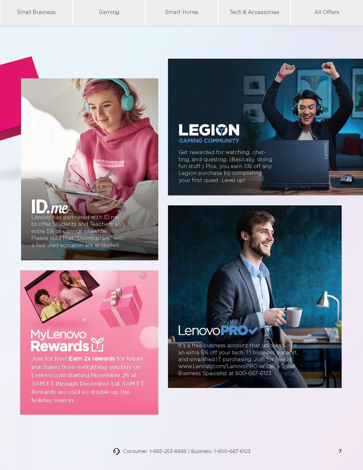 Lenovo Cyber Monday 2020 Page 7