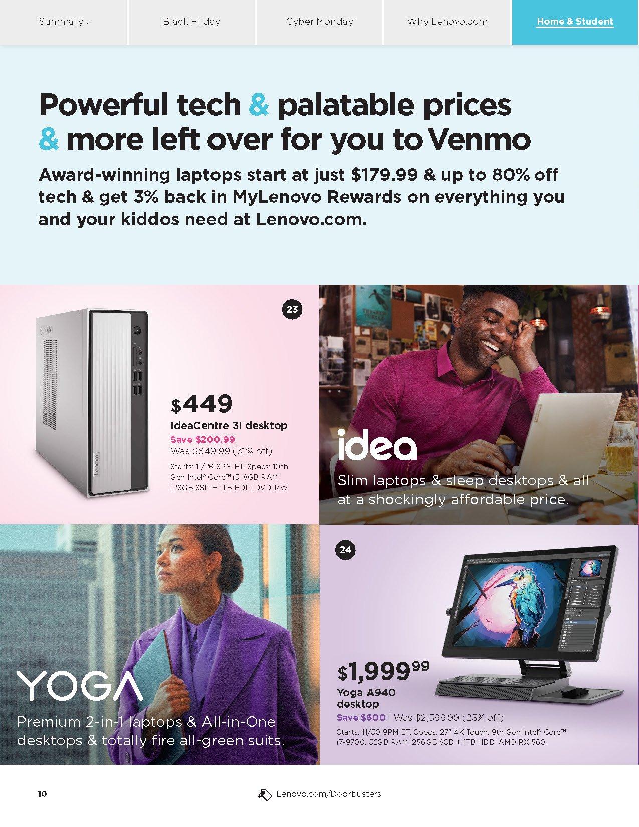Lenovo Cyber Monday 2020 Page 10