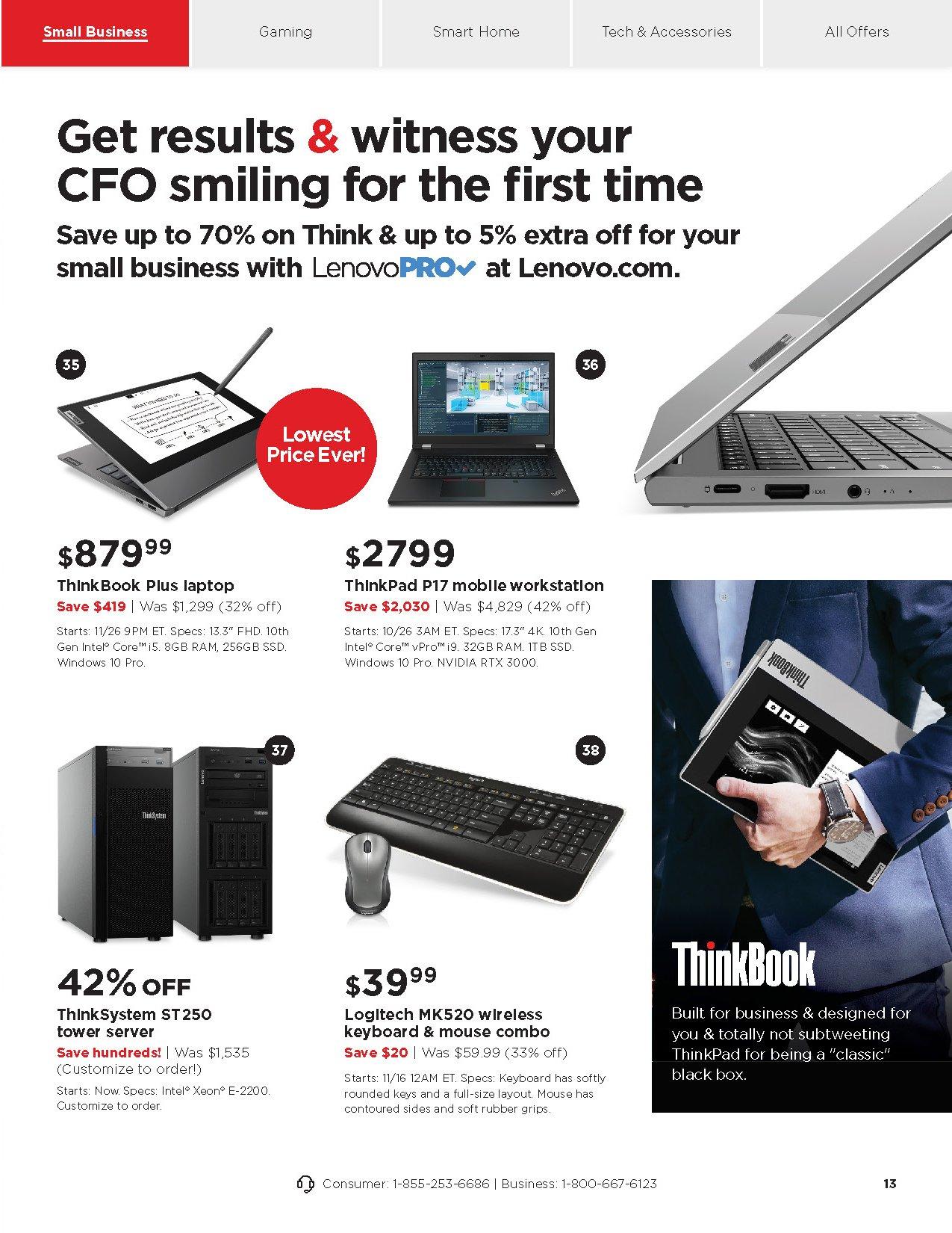 Lenovo Cyber Monday 2020 Page 13