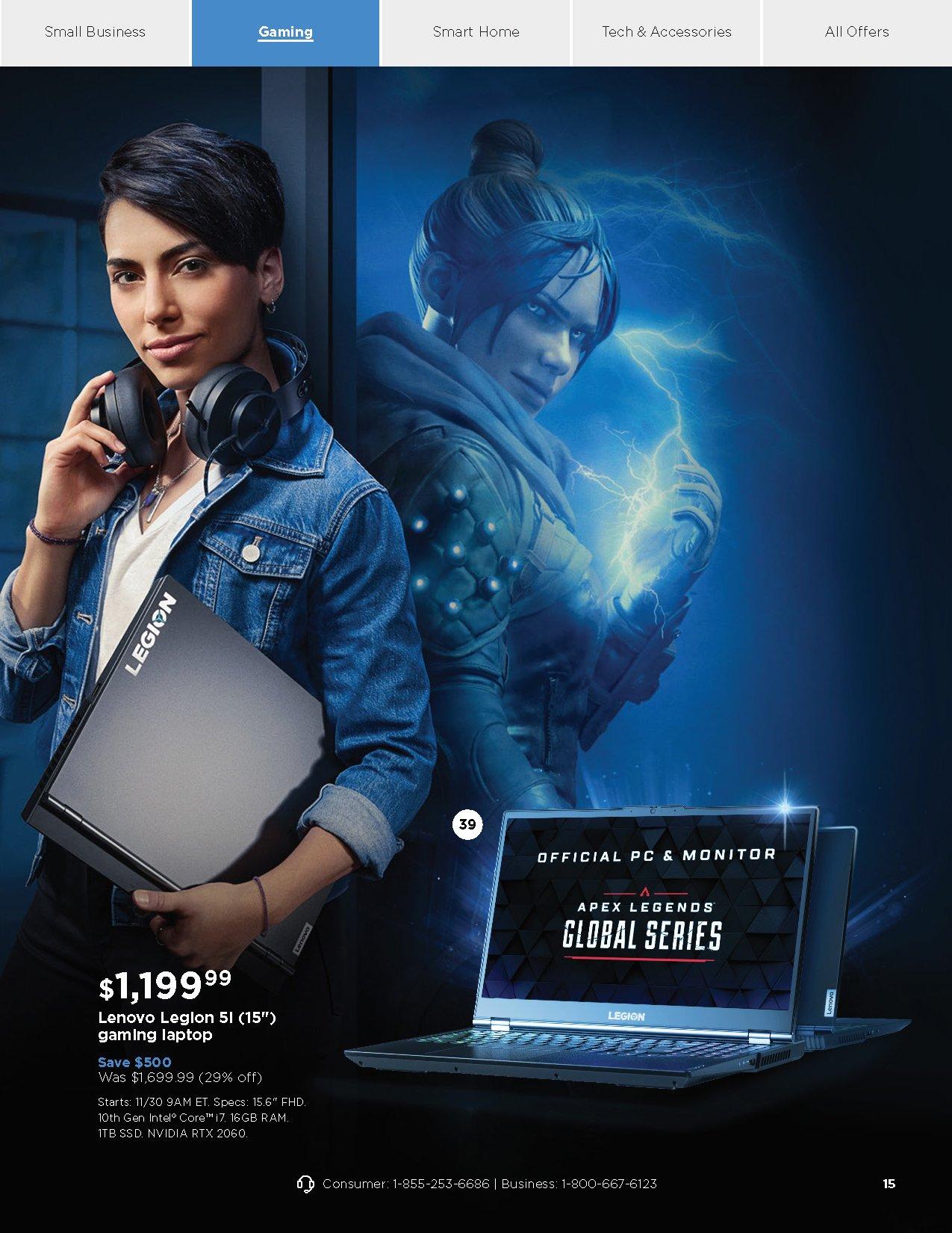 Lenovo Cyber Monday 2020 Page 15