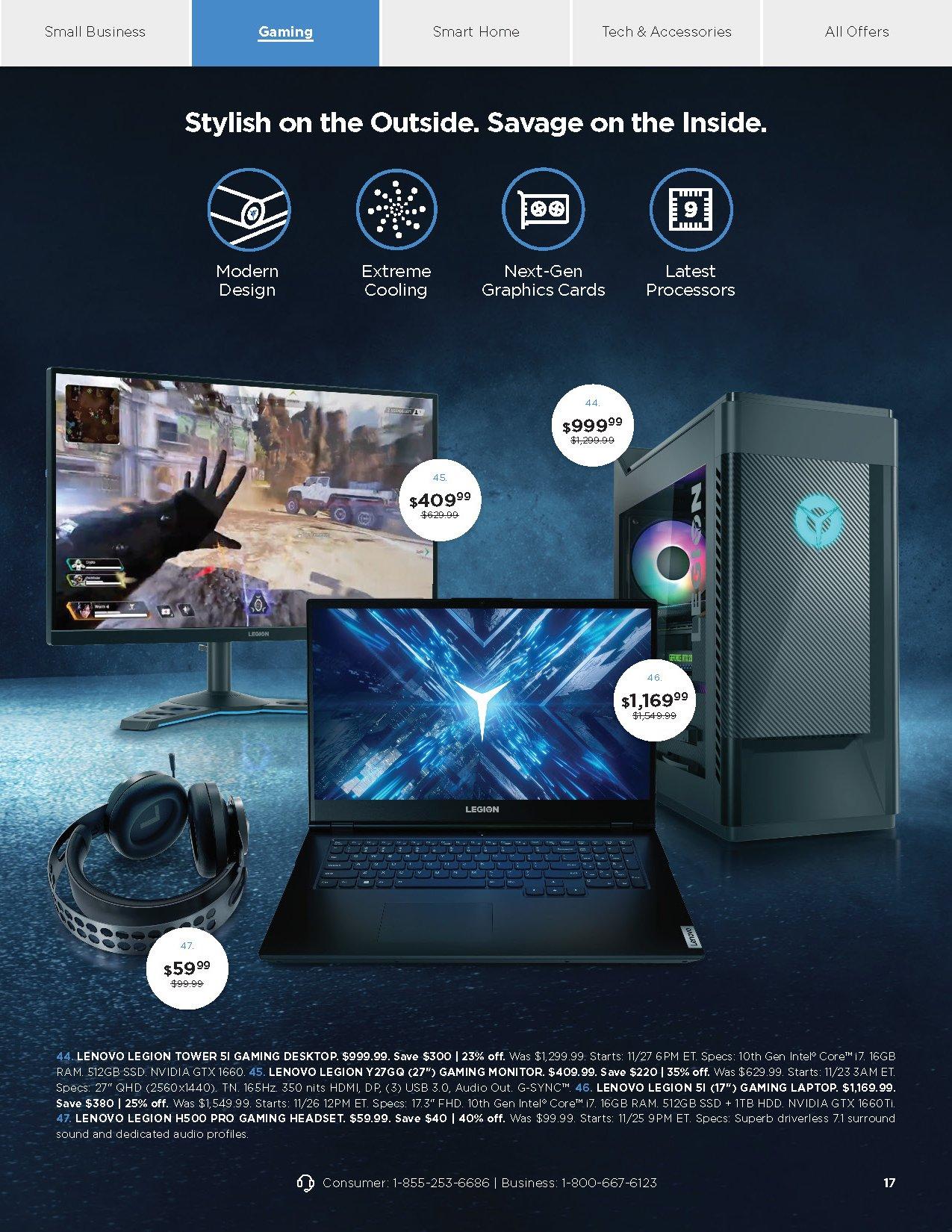 Lenovo Cyber Monday 2020 Page 17