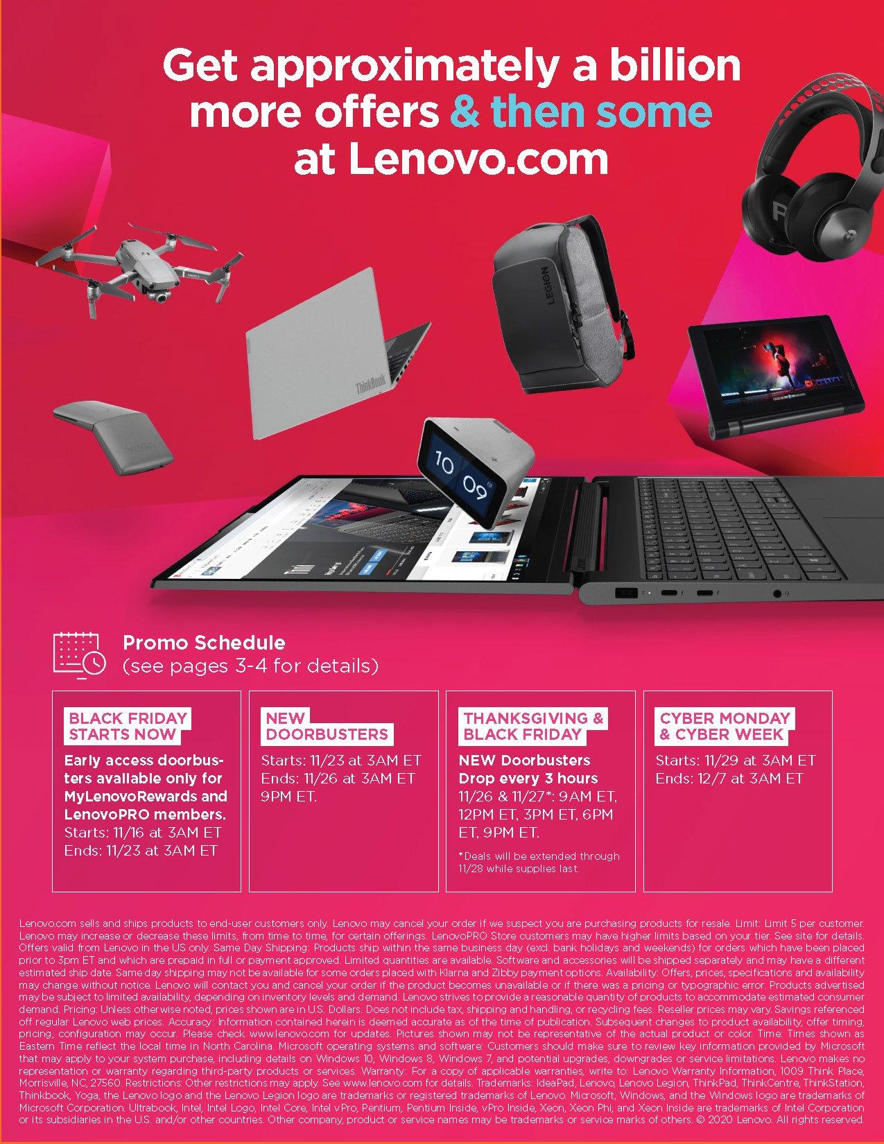 Lenovo Cyber Monday 2020 Page 26