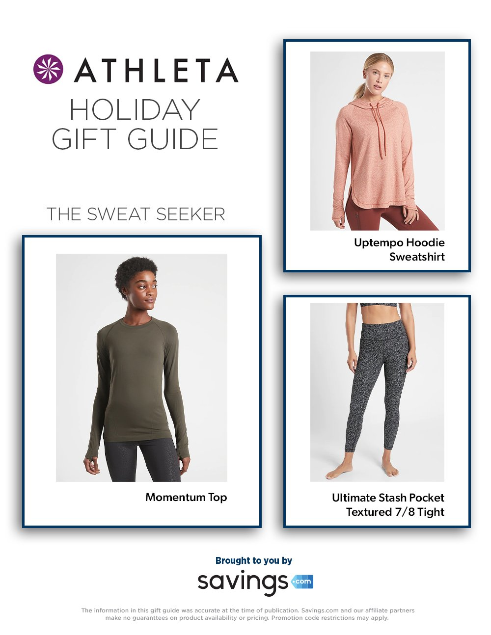 Athleta Holiday Gift Guide 2020 Page 2