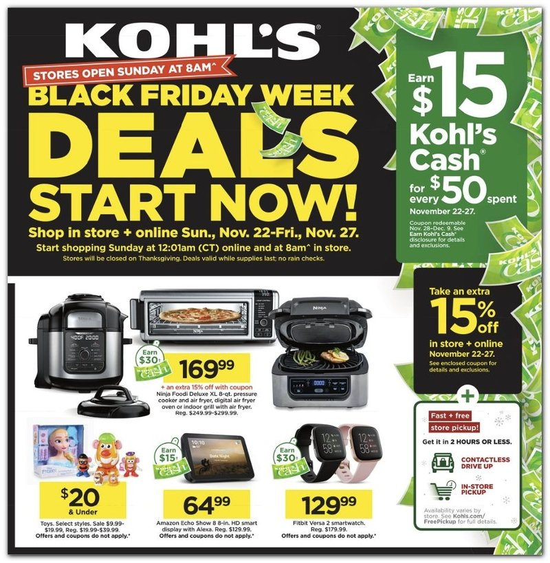 Kohl S Black Friday 2020 Ad Savings Com