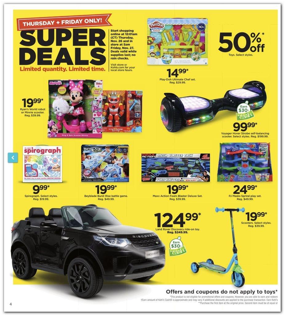 Kohl's Black Friday Super Deals 2020 Page 4