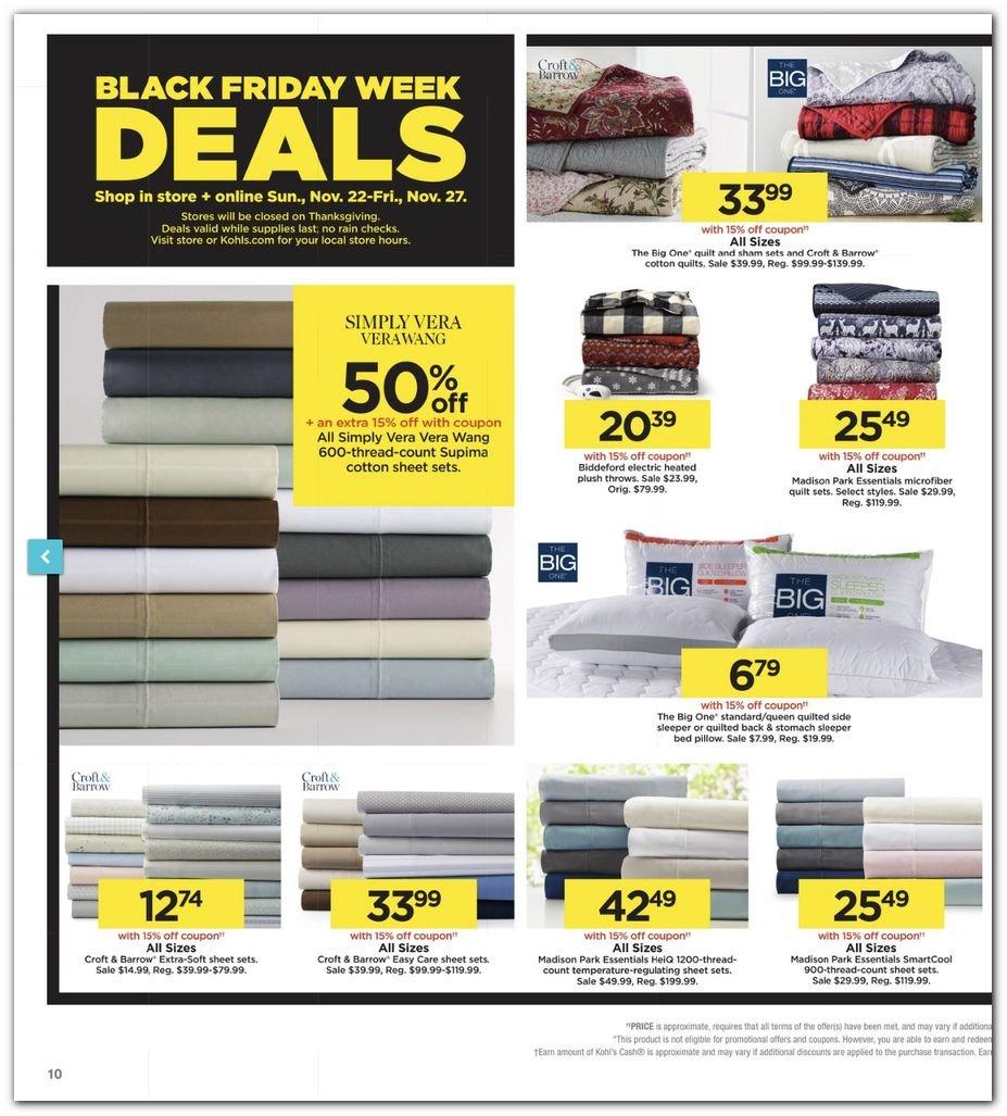 Kohl's Black Friday Super Deals 2020 Page 10