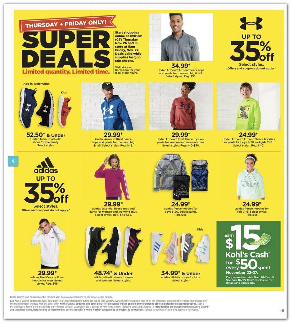 Kohl's Black Friday Super Deals 2020 Page 15