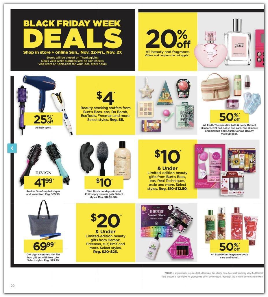 Kohl's Black Friday Super Deals 2020 Page 22