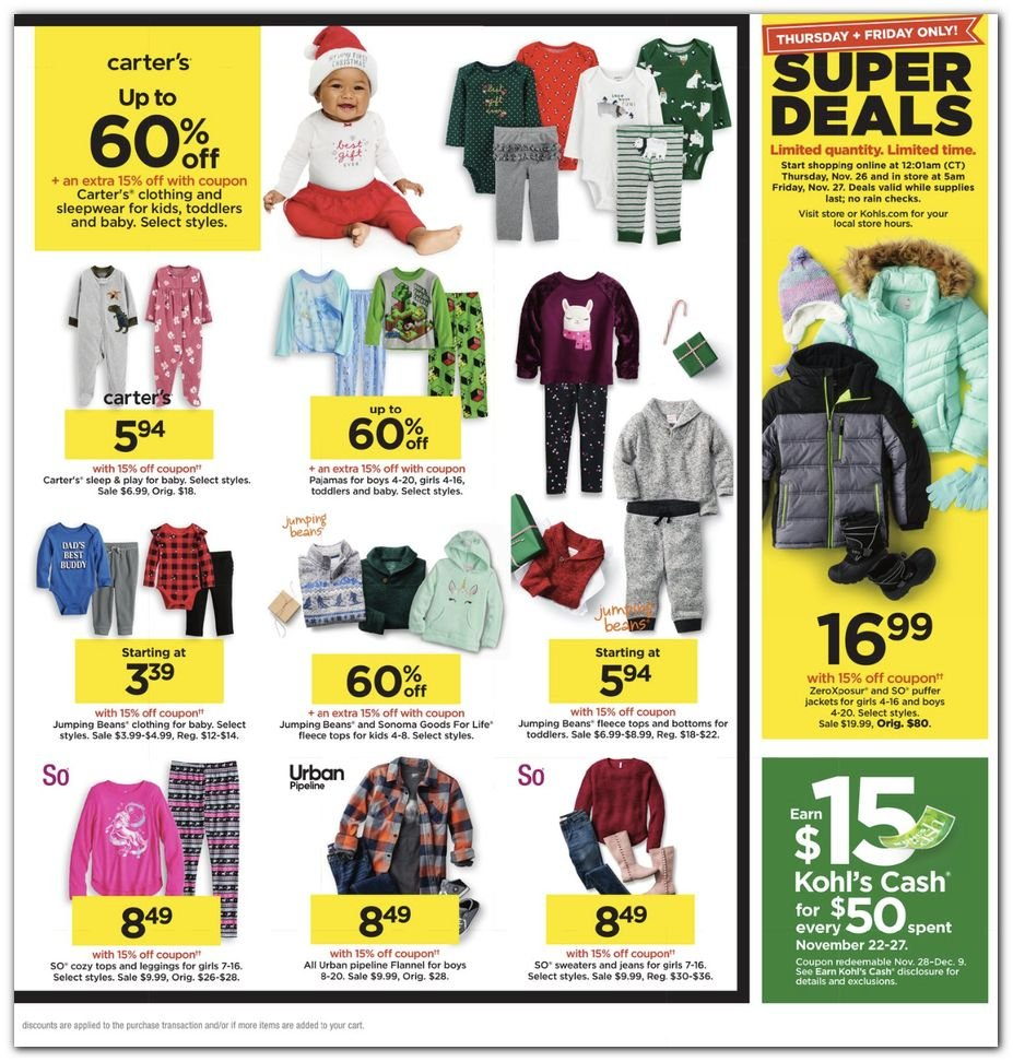 Kohl's Black Friday Super Deals 2020 Page 31