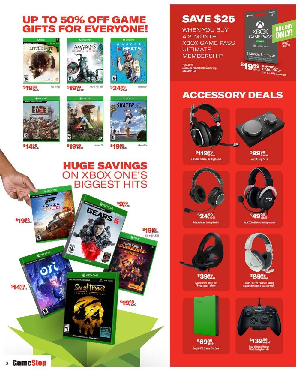 GameStop Black Friday 2020 Page 6