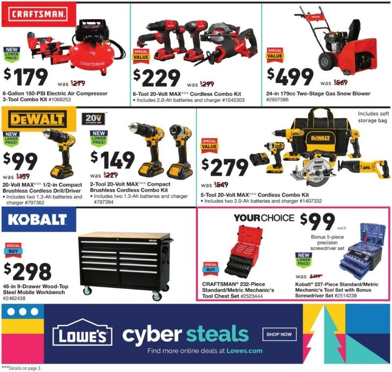 Lowe's Black Friday and Cyber Monday 2020 Page 2