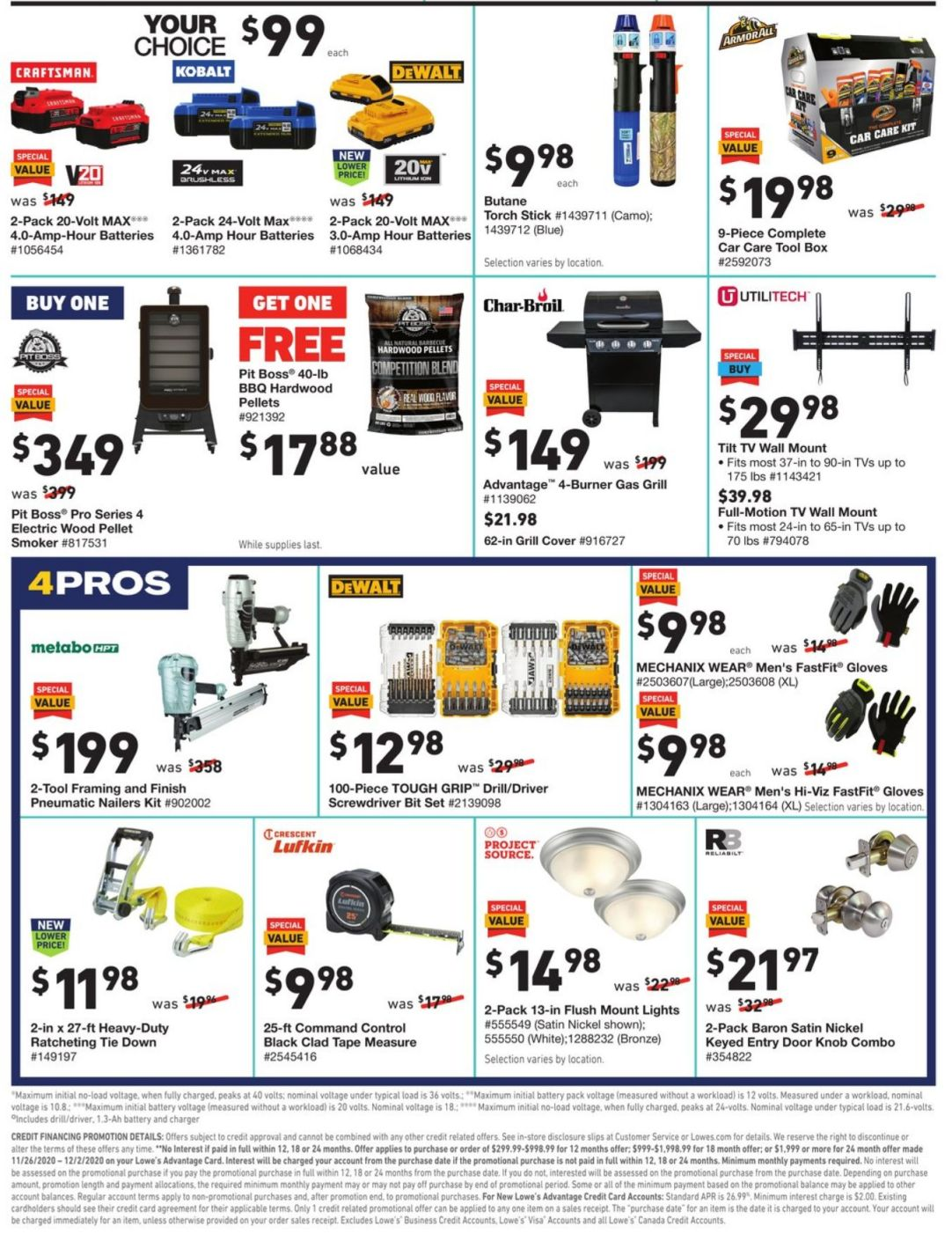 Lowe's Black Friday and Cyber Monday 2020 Page 6