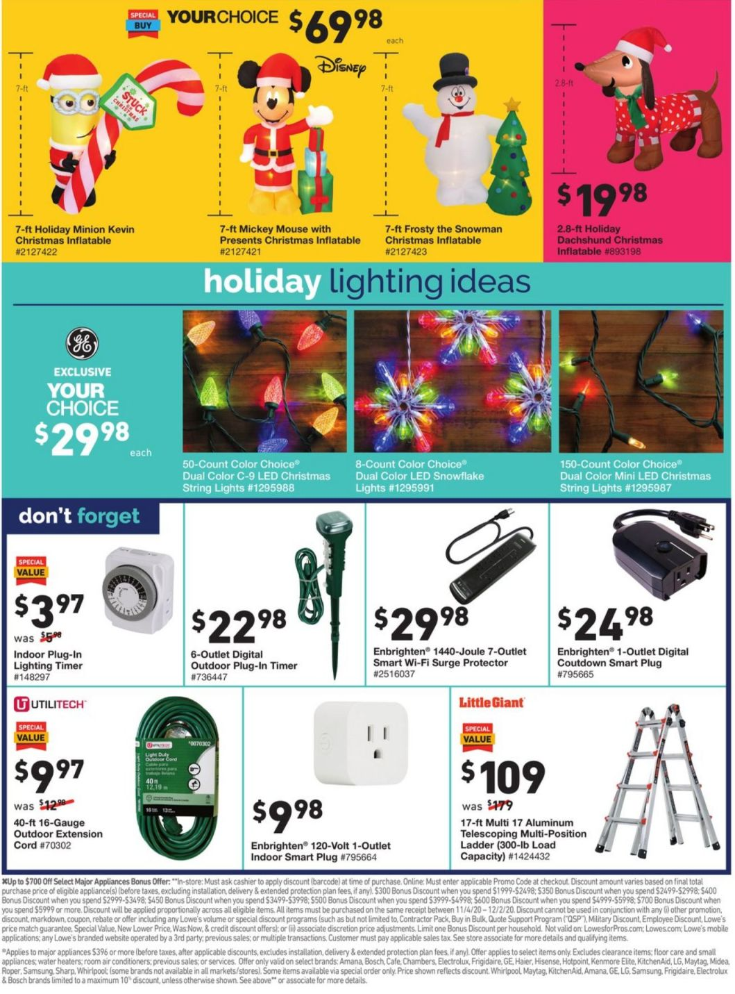 Lowe's Black Friday and Cyber Monday 2020 Page 10