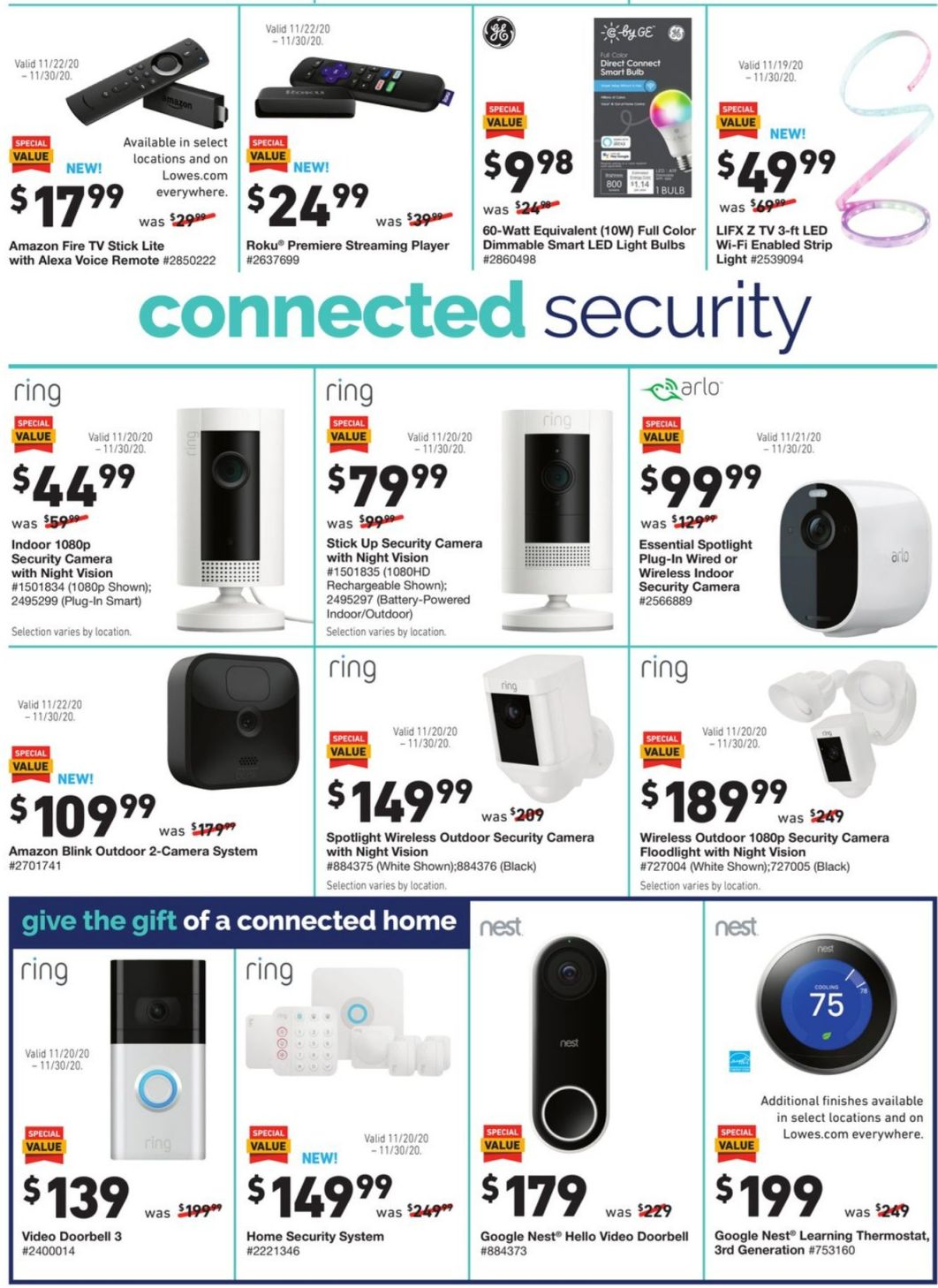 Lowe's Black Friday and Cyber Monday 2020 Page 12