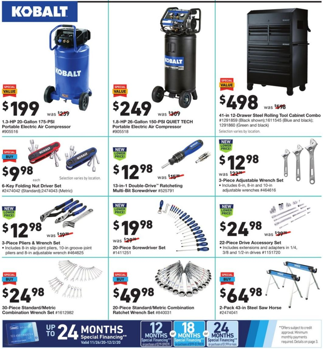Lowe's Black Friday and Cyber Monday 2020 Page 14