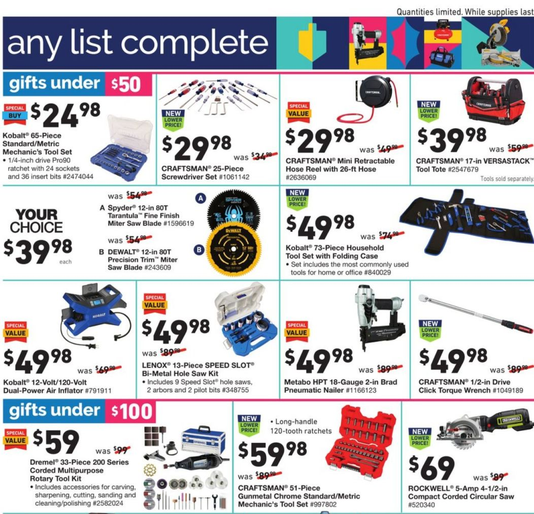 Lowe's Black Friday and Cyber Monday 2020 Page 17