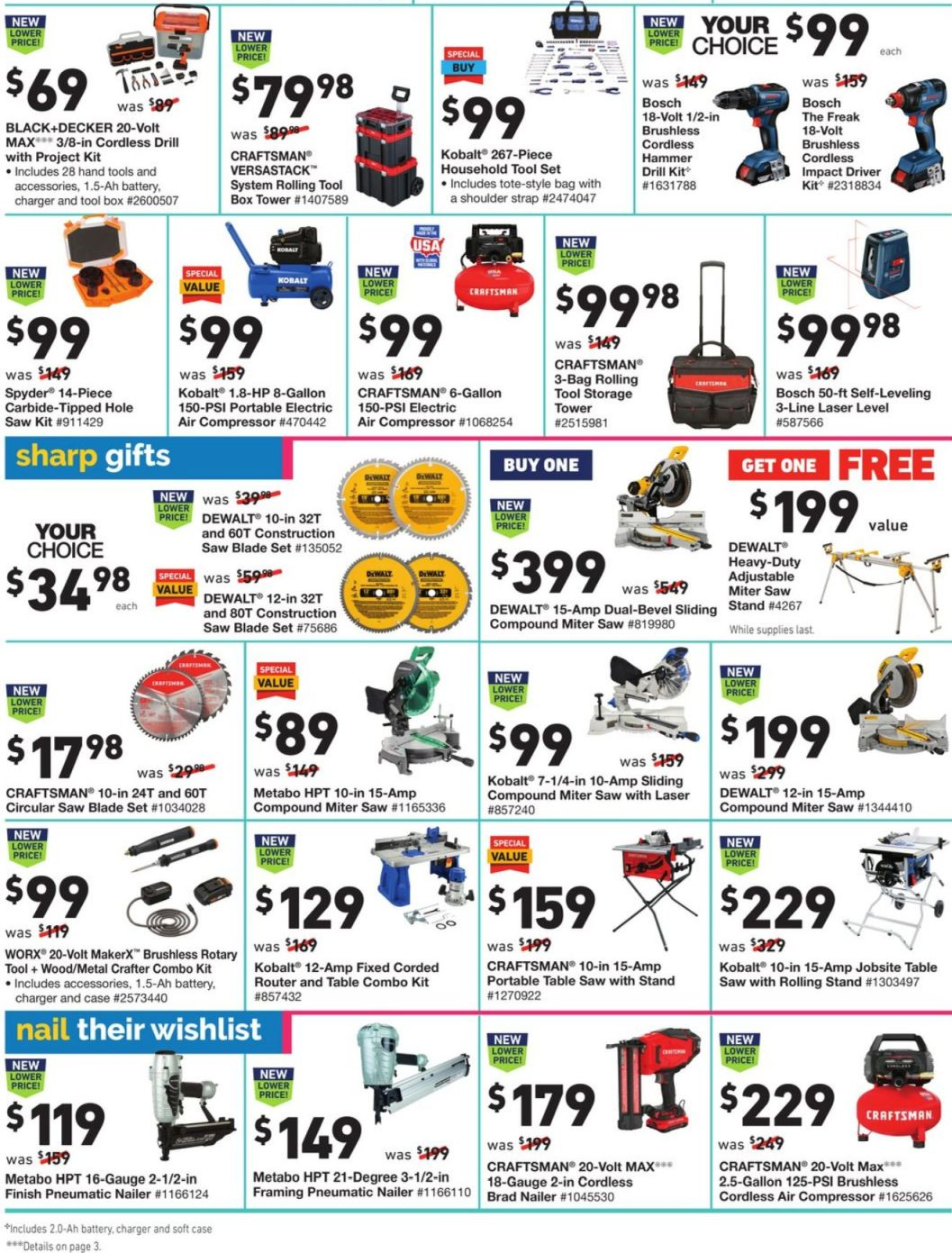 Lowe's Black Friday and Cyber Monday 2020 Page 18