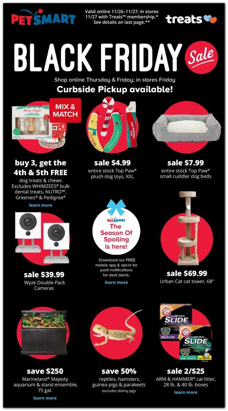 PetSmart Black Friday 2020 Page 1