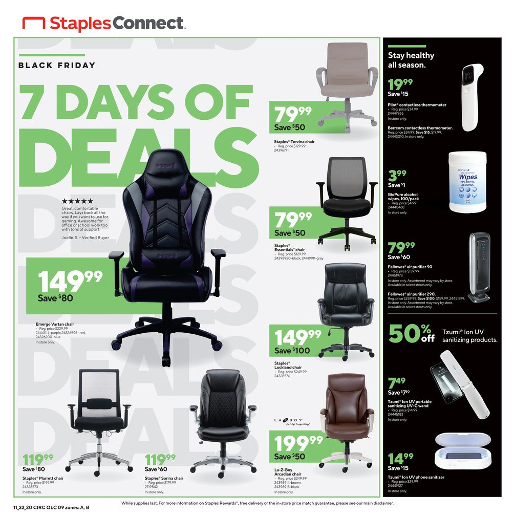 Staples Black Friday 2020 Page 9