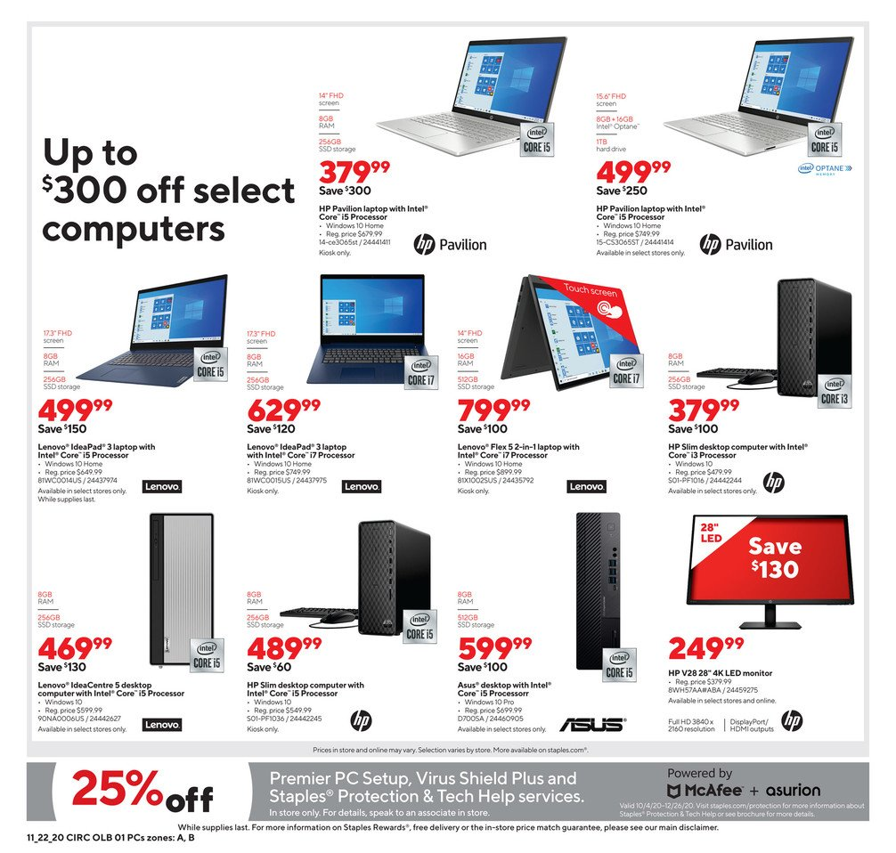 Staples Black Friday 2020 Page 10