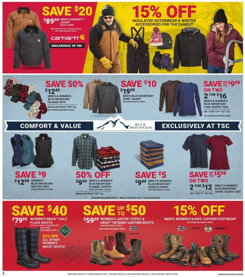 Tractor Supply Co. Black Friday 2020 Page 2
