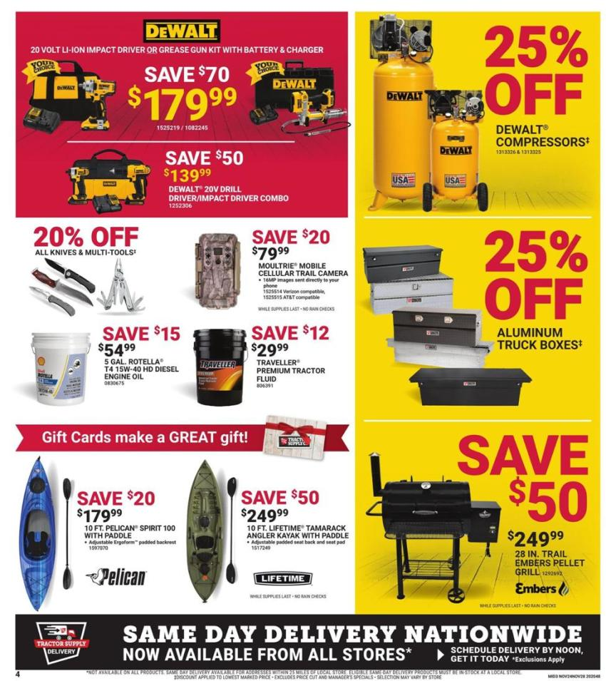 Tractor Supply Co. Black Friday 2020 Page 4
