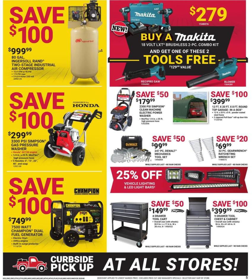 Tractor Supply Co. Black Friday 2020 Page 5