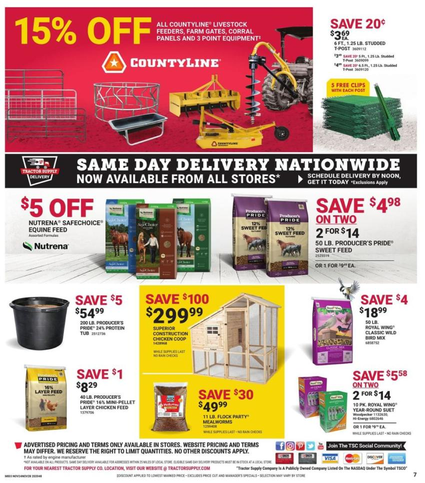 Tractor Supply Co. Black Friday 2020 Page 7