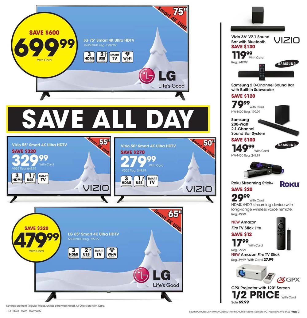 Fred Meyer Black Friday 2020 Page 3