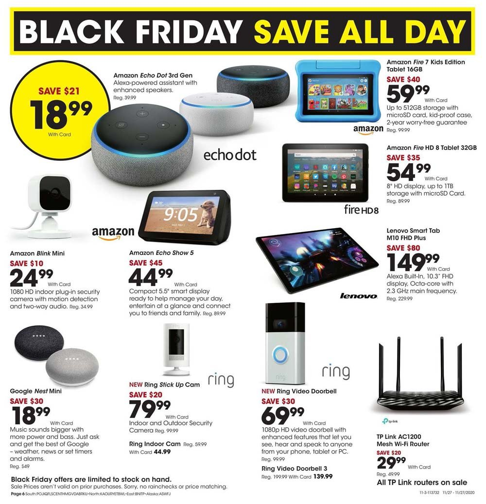 Fred Meyer Black Friday 2020 Page 6
