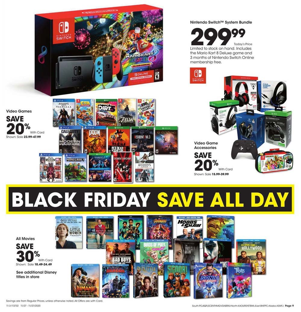 Fred Meyer Black Friday 2020 Page 9