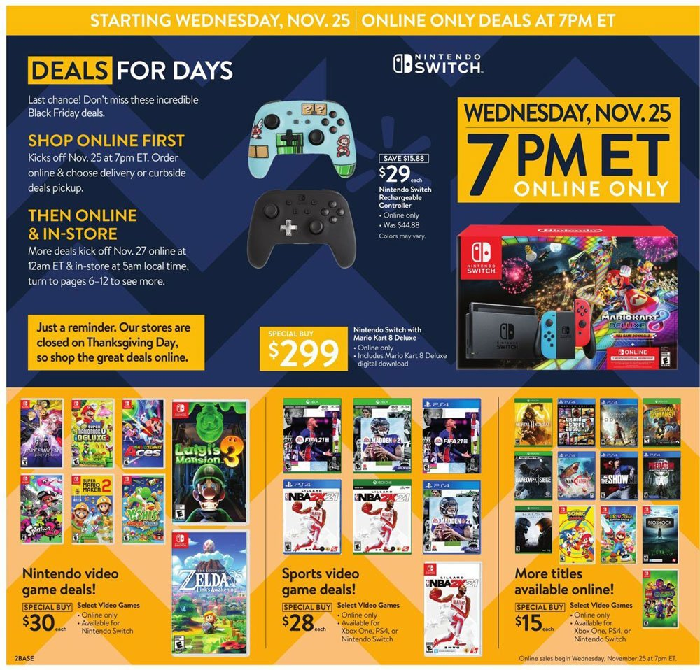 Walmart Black Friday 2020 Page 2