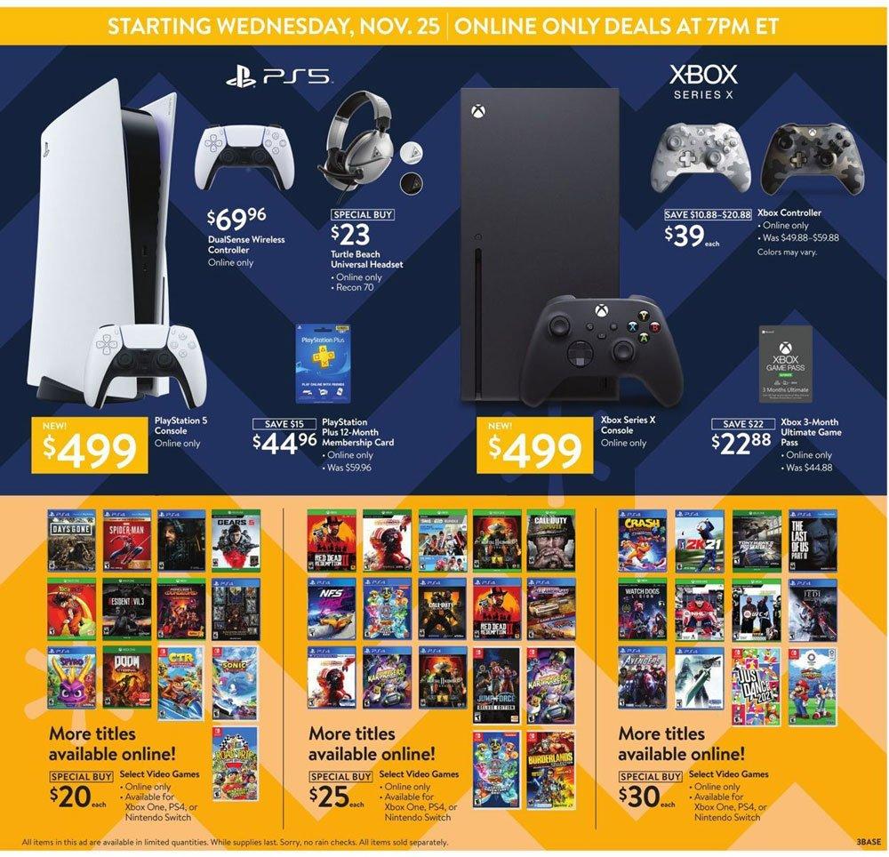 Walmart Black Friday 2020 Page 3