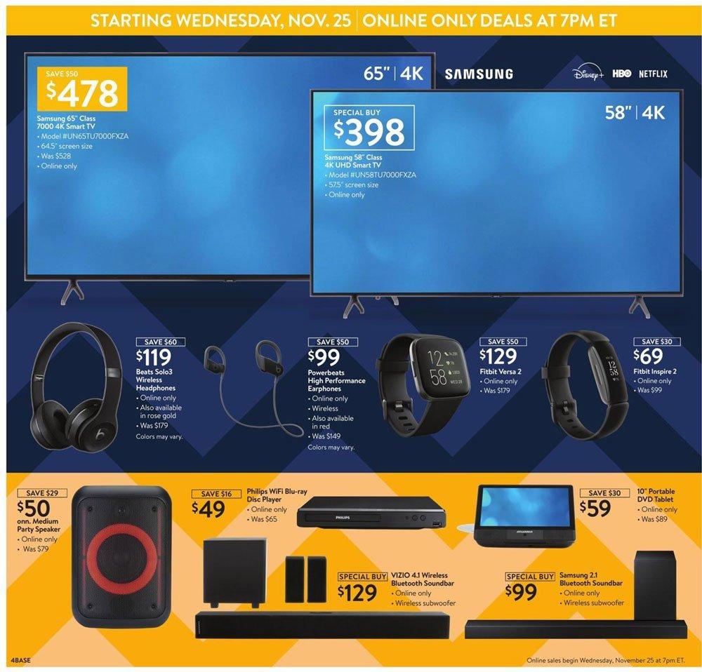 Walmart Black Friday 2020 Page 4
