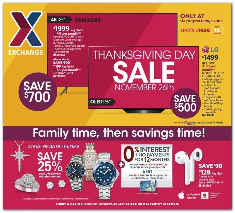 AAFES Black Friday 2020 Page 1