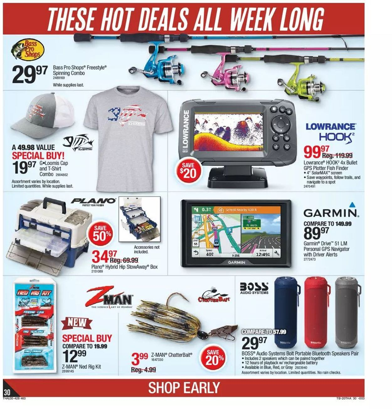 Bass Pro Shops Black Friday 2020 Page 30