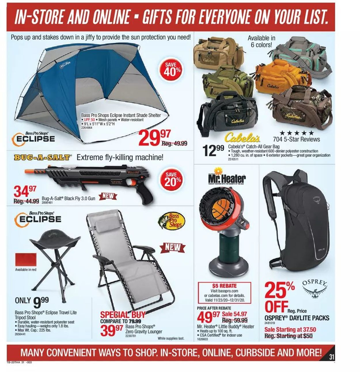 Bass Pro Shops Black Friday 2020 Page 31