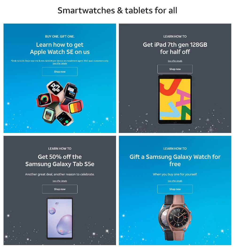 AT&T Wireless Black Friday 2020 Page 2